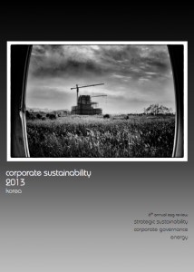 Corporate sustainability korea 2013