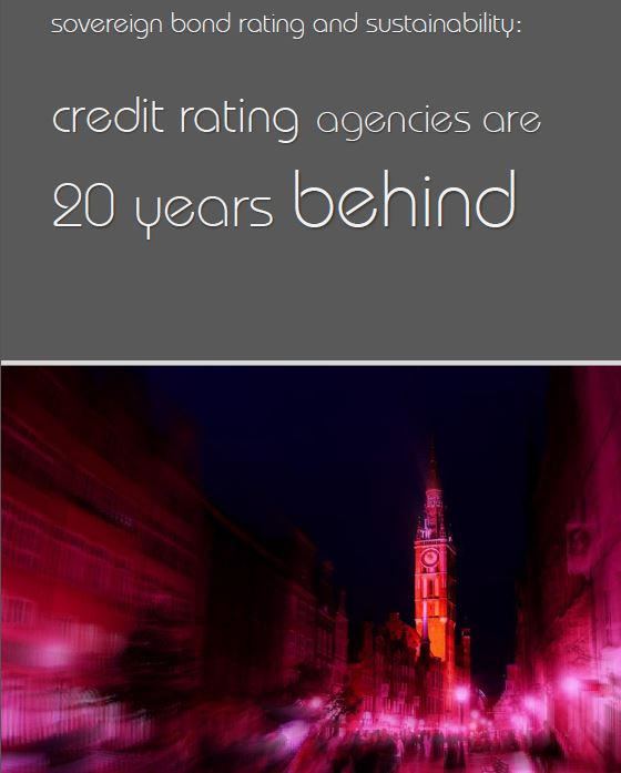 Credit ratings and sustainabilty cover