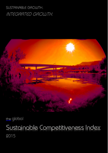 SUstainable Competitivenes Index 2015