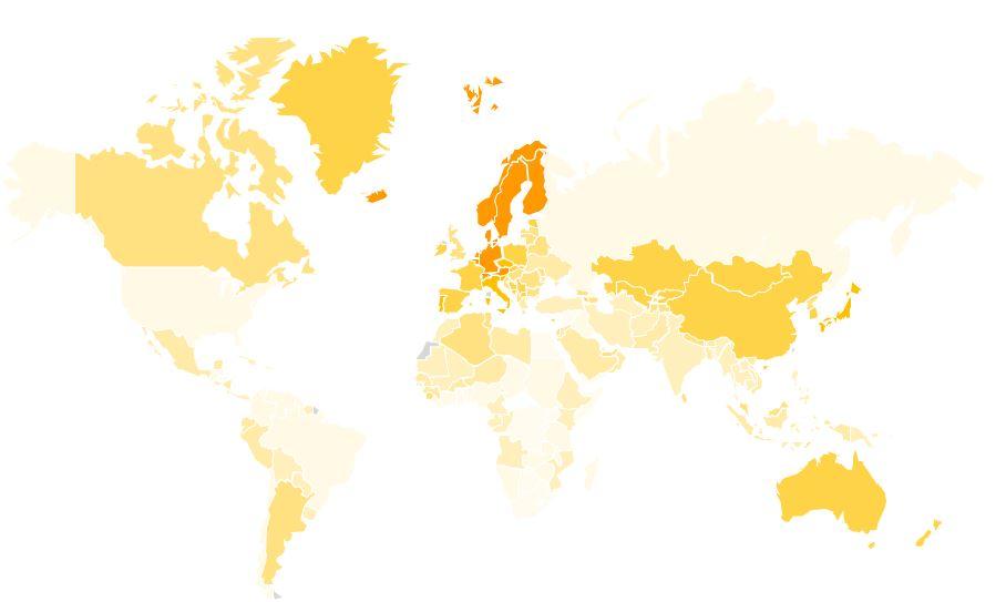 Social Capital World Map_2019